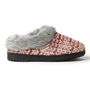 Women's Dearfoams Sweater Knit Clog Slippers