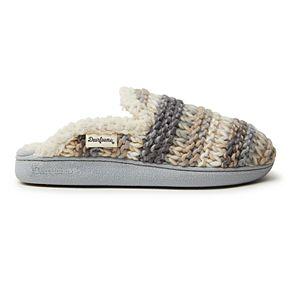 Women's Dearfoams Chunky Knit Slippers