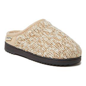 Women's Dearfoams Marled Chunky Knit Clog Slippers