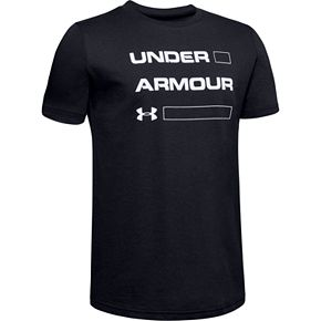 Boys 8-20 Under Armour Stacked Logo Tee