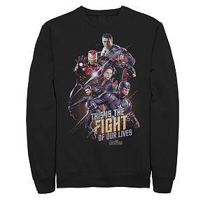 Men's Marvel Avengers Endgame Group Final Fight Sweatshirt