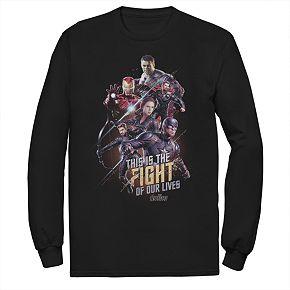 Men's Marvel Avengers Endgame Group Final Fight Tee