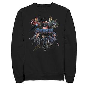 Men's Marvel Avengers Endgame Heros Logo Sweatshirt