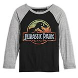 Boys 4-12 Jumping Beans® Long-Sleeve Jurassic Sunset Tee