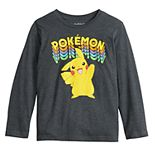 Boys 4-12 Jumping Beans® Long-Sleeve Rainbow Pikachu Tee