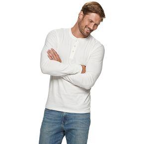 Men's SONOMA Goods for Life? Supersoft Slim-Fit Henley Shirt