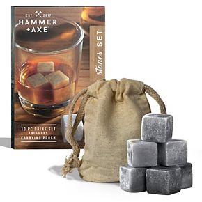 Hammer & Axe Whiskey Stones
