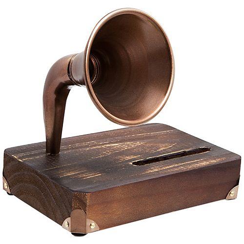 Hammer & Axe Smartphone Dock Wood with Amplifier