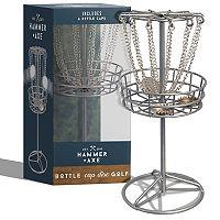 Hammer & Axe Game Bottle Cap Micro Disc Golf Deals