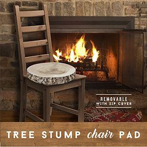 Hammer & Axe Chair Pad Tree Stump