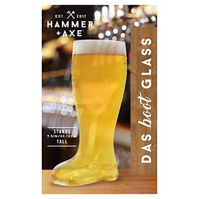 Hammer & Axe Beer Glass Mug Das Boot 1400mL