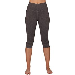 Women's Spalding High Waist Spacedye Crop