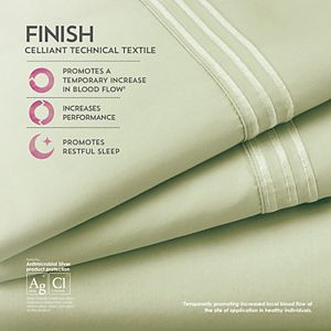Pure Care Celliant Hi-Performance Recovery Sheet Set or Pillowcase Set
