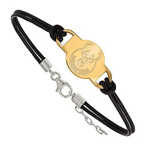 NBA Milwaukee Bucks Leather Bracelet