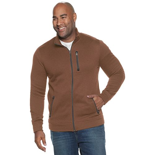 Big & Tall SONOMA Goods for Life® Supersoft Sweater Fleece Zip Jacket