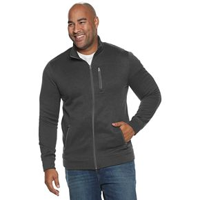Big & Tall SONOMA Goods for Life? Supersoft Sweater Fleece Zip Jacket