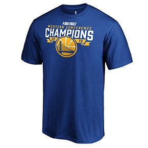 Men's Golden State Warriors 2019 Western Conference Champions All Real Tee