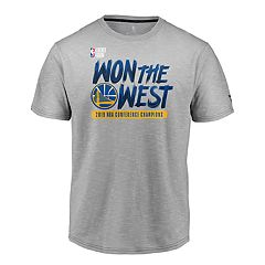 39a2a12c Boys Golden State Warriors 2019 NBA Conference Champions Locker Room Tee