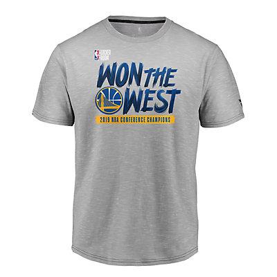 Boys Golden State Warriors 2019 NBA Conference Champions Locker Room Tee