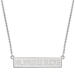 NBA Milwaukee Bucks Bar Necklace
