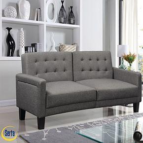 Serta Oscar Convertible Sofa