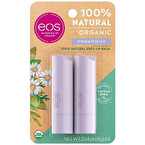 eos 2-Pack Natural & Organic Chamomile Lip Balm Stick