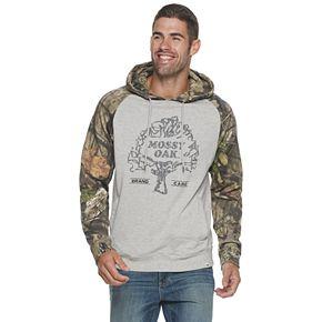 Men's Mossy Oak Raglan Pullover Hoodie