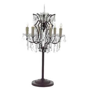Gallery Baroque 6-Light Table Lamp