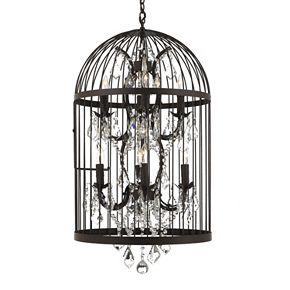 Gallery 8-Light Birdcage Chandelier