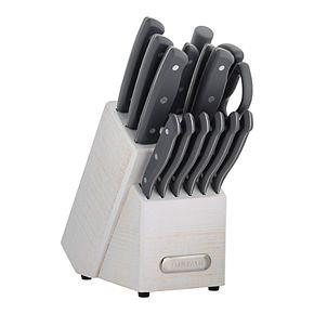 Farberware 15-pc. White Wash Cutlery Set