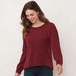 Women's LC Lauren Conrad Puff Sleeve Sweater