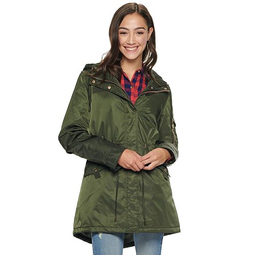 Juniors' madden NYC Juniors' Nylon Anorak