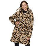 Juniors' madden NYC Juniors' Long Teddy Coat