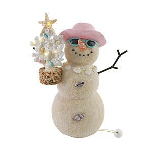St. Nicholas Square® Snowman LED Light Figurine