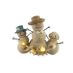 St. Nicholas Square® Snowmen LED Light Figurine