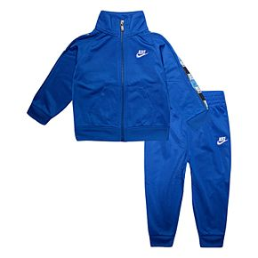Baby Boy Nike 2-Piece Tricot Zip Hoodie and Pants Track Set