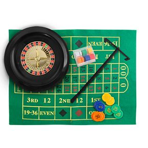 Wembley Game Deluxe Roulette Set with Chips