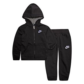 Baby Boy Nike 2-Piece French Terry Zip Hoodie and Pants Set