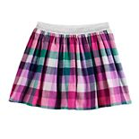 Girls 4-12 Jumping Beans® Flannel Skort