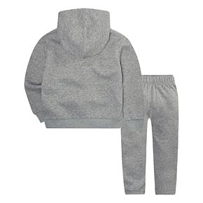 Baby Boy Nike 2-Piece Fleece Zip Hoodie and Pants Set