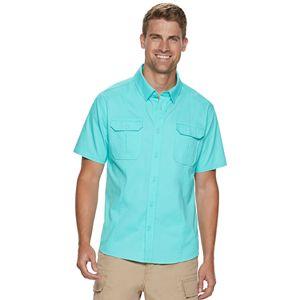 Men's Reel Life Beachcomber Reef Diver Button-Down Shirt