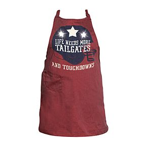 Wembley Light-Up Game Day Grilling Tailgate Apron with Sounds