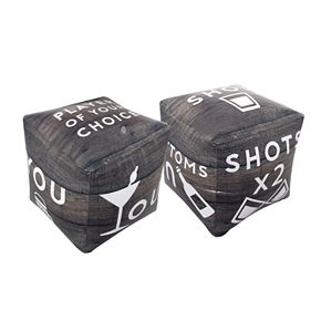 Wembley Game Inflatable Drinking Dice 2 Pack