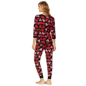 Women's Cuddl Duds Sweater Knit Pajama Set