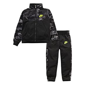 Baby Boy Nike 2-Piece Textured Tricot Zip Jacket and Pants Track Set