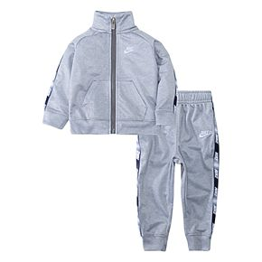 Toddler Boy 2T-4T Nike 2 Piece Taping Zip Jacket and Jogger Pants Track Set