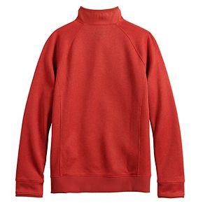 Boys 8-16 Under Armour Sweater Fleece Half-Snap Top