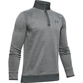 Boys 8-20 Under Armour Sweater Fleece Half-Snap Top