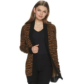Women's Apt. 9® Animal Print Cardigan