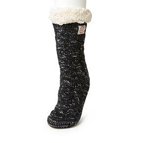 Women's Dearfoams Blizzard Sock Cable Knit